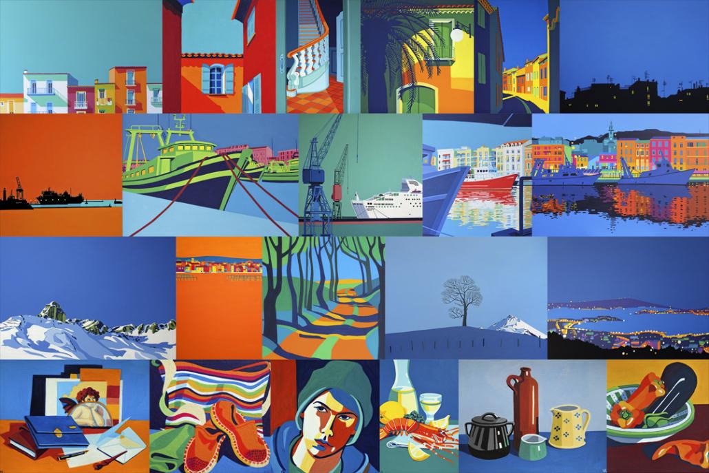 Collage von Bildern